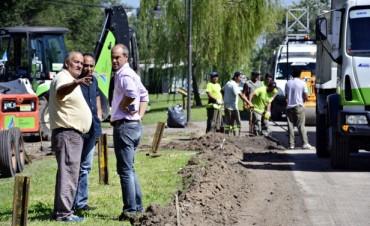 El Municipio realiza trabajos de mejora en el Camino Bancalari