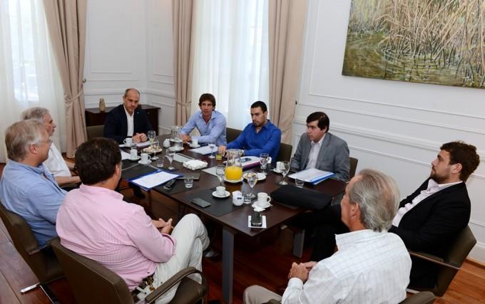 San Fernando planteó al Gobierno Nacional y AySA la finalización de obras inconclusas en el distrito
