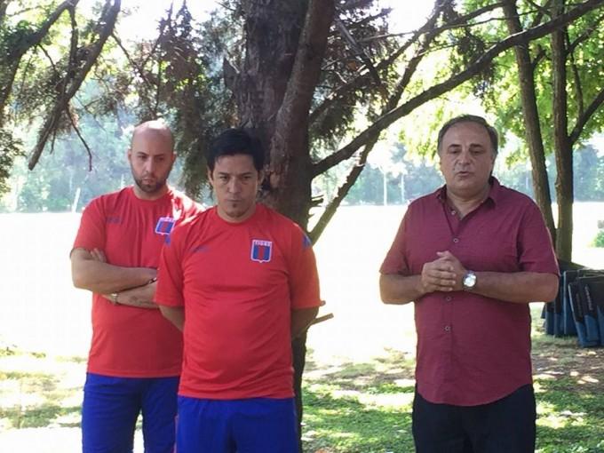 Hoy iniciamos una nueva etapa con Mauro Camoranesi y su cuerpo técnico al frente del plantel profesional del Club Atletico Tigre.