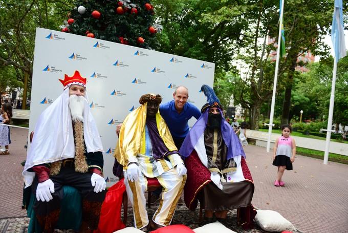 Los Reyes Magos ya están en San Fernando y preparan un gran festejo