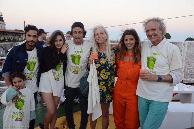 Artistas y personalidades de la cultura acompañaron a Greenpeace en defensa de los bosques argentinos.