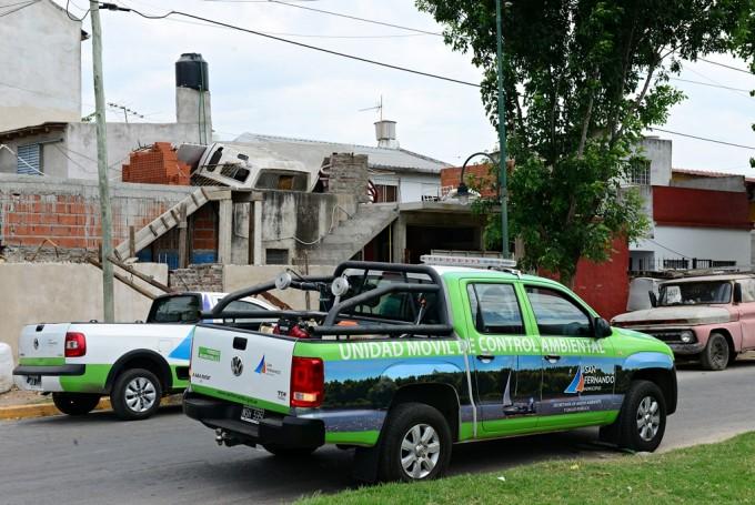 San Fernando avanza con el Programa de Prevención del dengue en los barrios