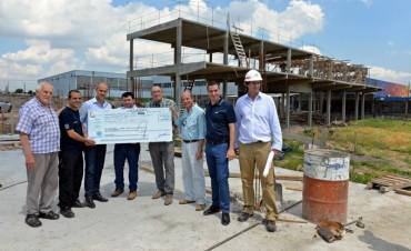 El Municipio aportó otros 2 millones de pesos para el nuevo Cuartel de Bomberos