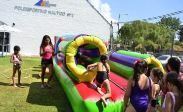 Semana de juegos de agua en los Polideportivos de San Fernando