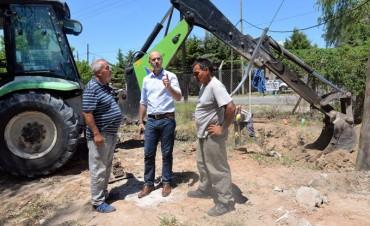 Grandes avances en la hidráulica del barrio Aviación de San Fernando
