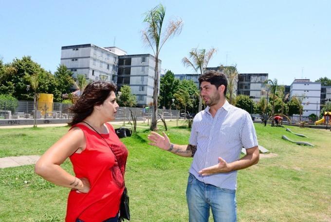San Fernando realiza trabajos de mejora en el barrio Infico