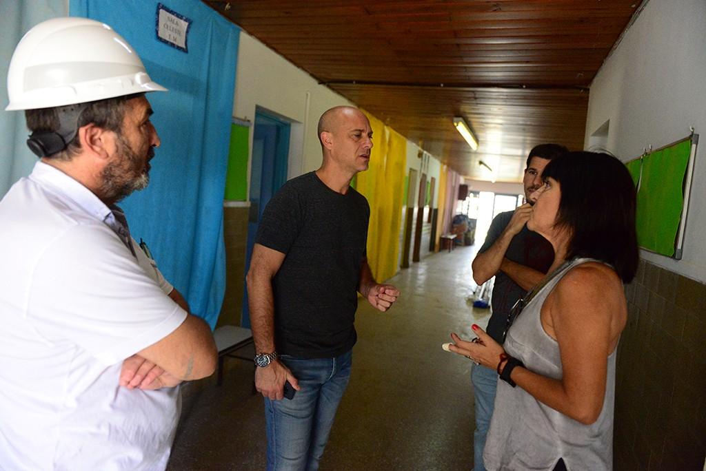 Avanza la refacción del Jardín de Infantes N° 910 de San Fernando