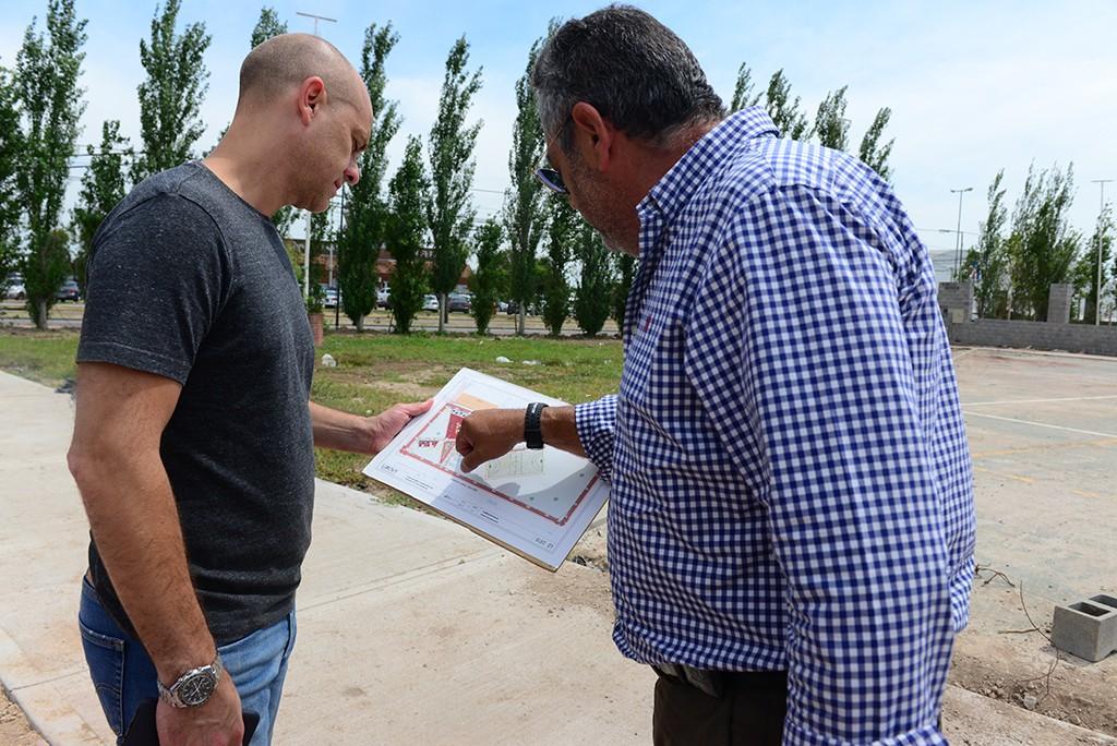 Avanzan los trabajos en la nueva Plaza San Ginés de San Fernando