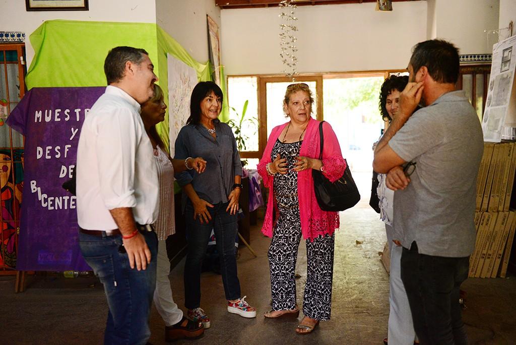 El Municipio avanza con las obras en la Escuela Nº3 de San Fernando