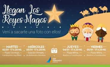 Los Reyes Magos llegan a San Fernando