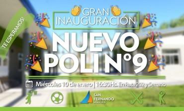 San Fernando inaugurará su 9no. Polideportivo