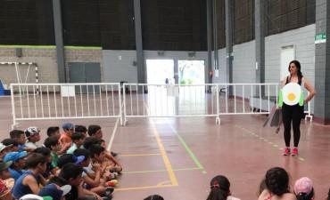 Concientizan sobre alimentación saludable a los chicos de los Polis de San Fernando