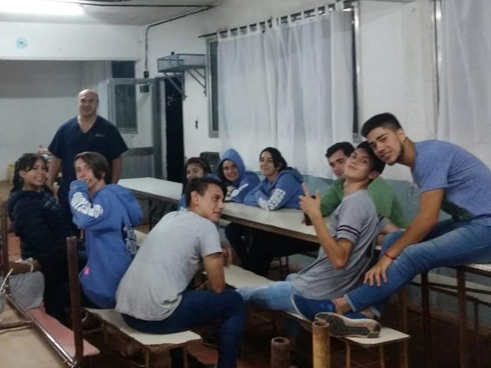 San Fernando sostuvo un Taller de Primeros Auxilios en la Escuela Técnica N° 1 de islas