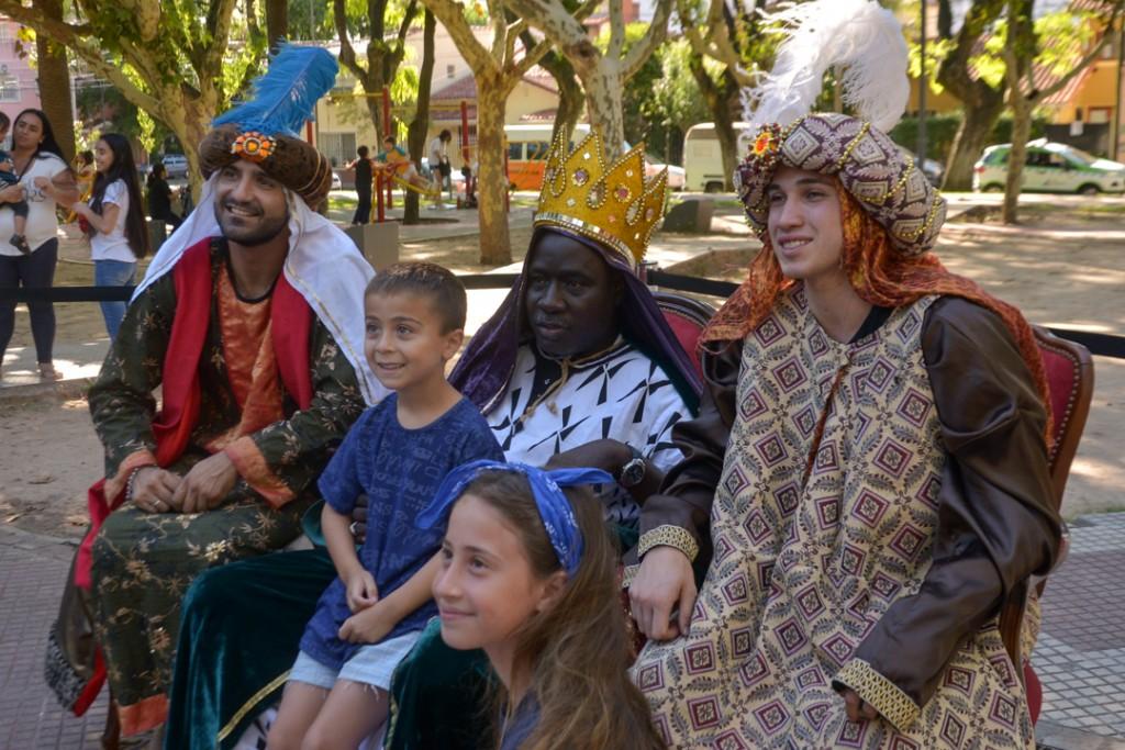 Los Reyes Magos ya llegaron a San Fernando
