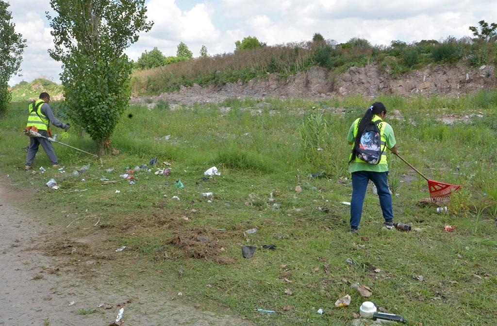 San Fernando limpió y realizó control de plagas en distintos barrios de Virreyes