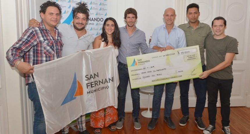 San Fernando reconoció al grupo coral 'La Fortunata' que competirá en el pre Cosquín 2019