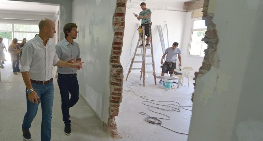 El Municipio de San Fernando renueva integralmente la Escuela Provincial N° 21