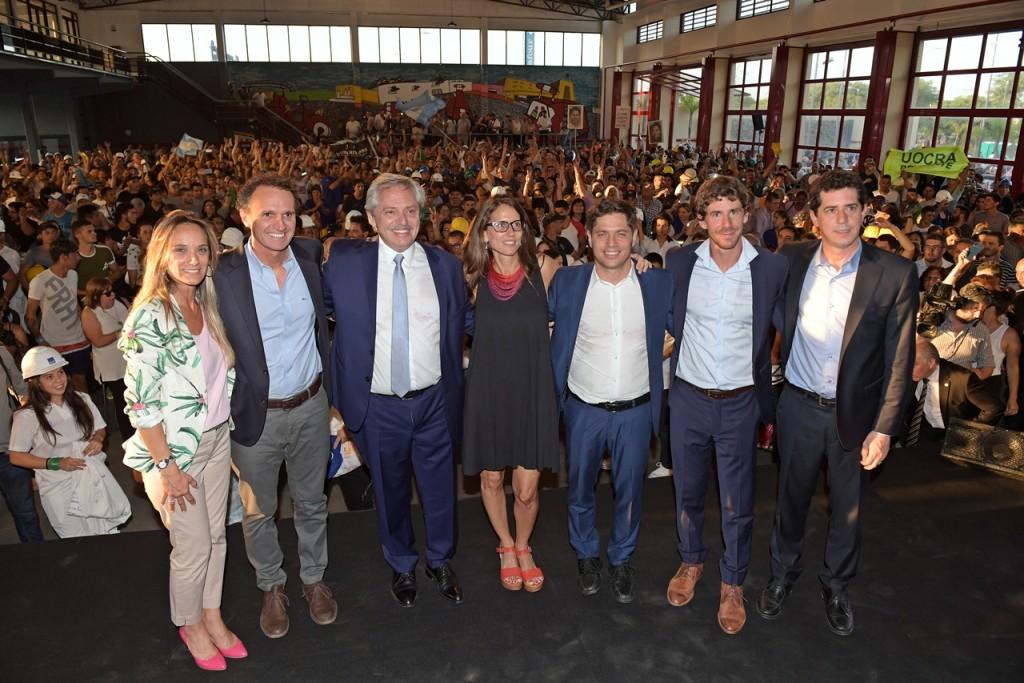 Alberto Fernández presentó en San Fernando el programa nacional 'Argentina Hace'