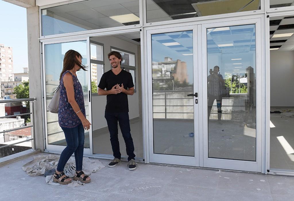 Juan Andreotti supervisó la renovación y ampliación de la Secretaría de Economía