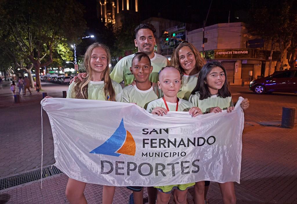 El Equipo Municipal de San Fernando obtuvo su primera medalla en natación a nivel nacional