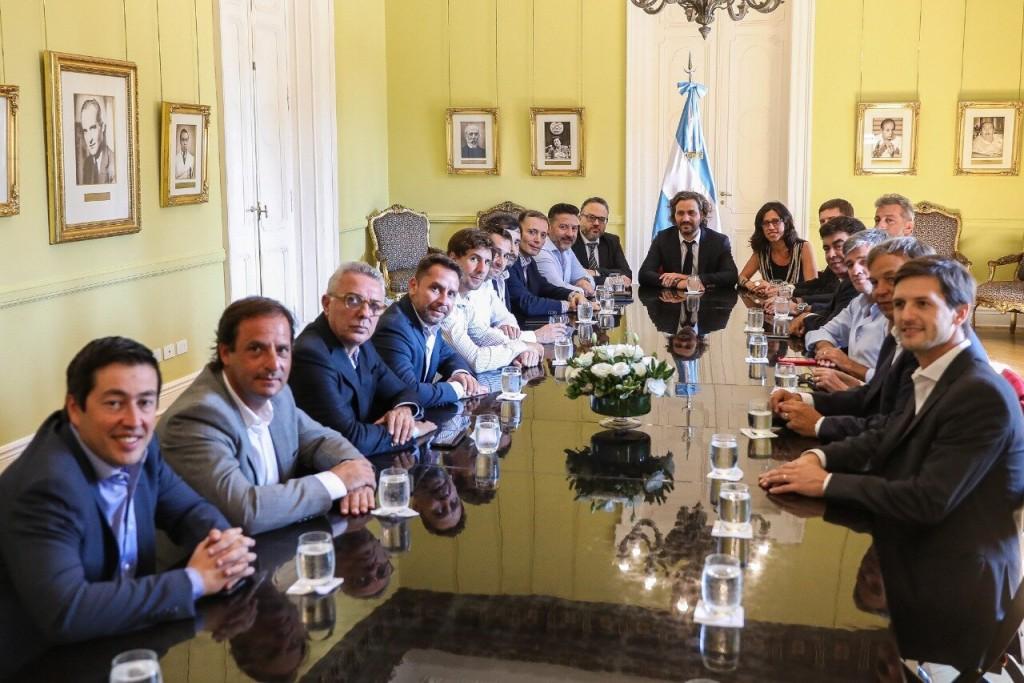 JUAN ANDREOTTI SE REUNIÓ CON EL JEFE DE GABINETE E INTENDENTES PARA COORDINAR EL PLAN PRECIOS CUIDADOS