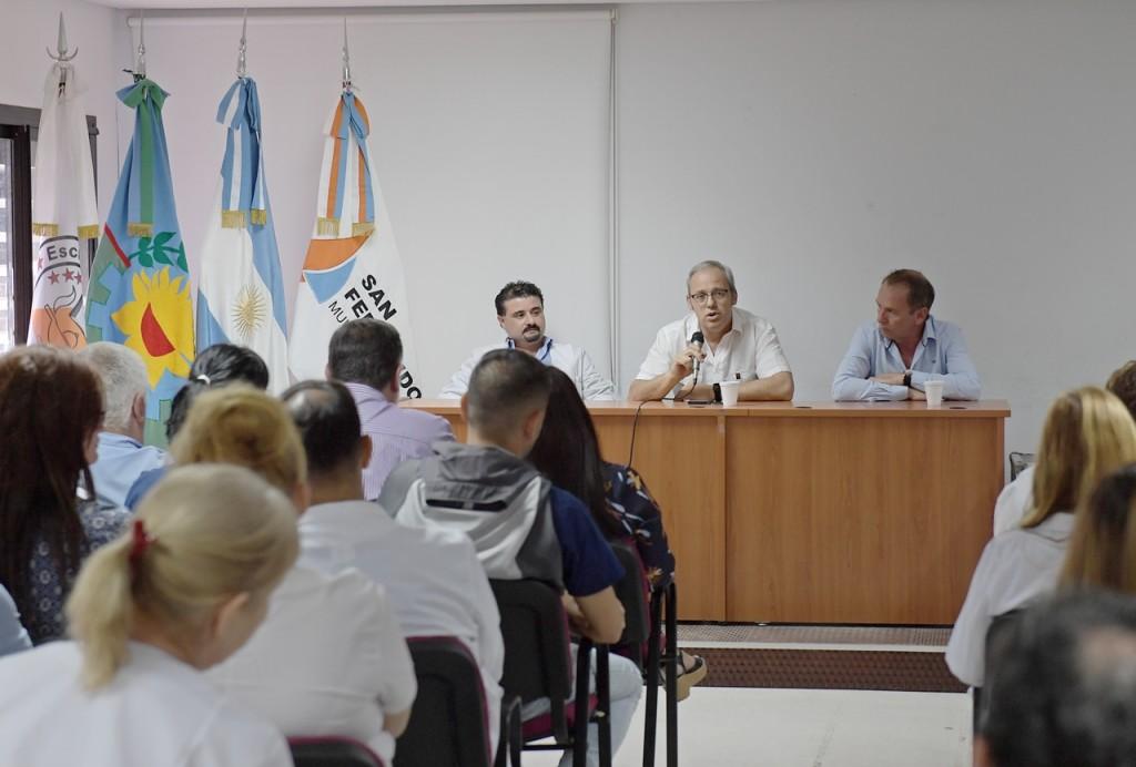 Asumieron las nuevas autoridades del Hospital Provincial de San Fernando