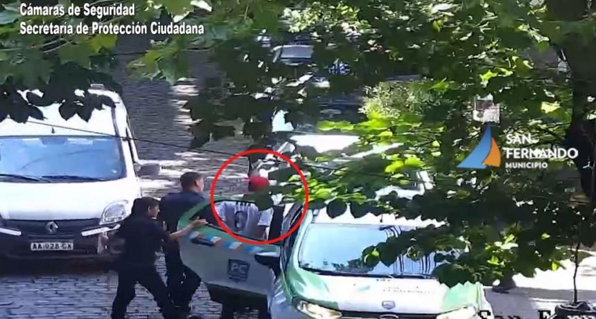 Ladrón de bicicleta detenido gracias a las Cámaras de Seguridad de San Fernando