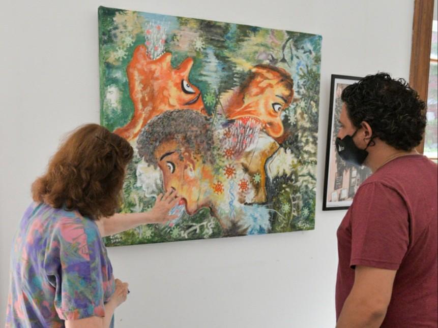 Grandes referentes de la 'Sociedad Sanfernandina para el Arte' exponen en el Museo de San Fernando