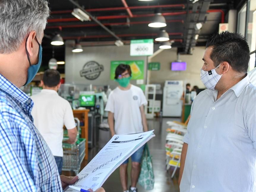 El Municipio de San Fernando refuerza el control de Precios Máximos en comercios del distrito