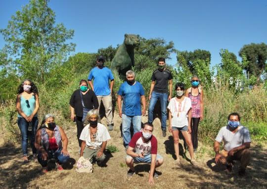 El Consejo Provincial Indígena visitó Punta Querandí y escuchó las demandas de la Unión de Pueblos Originarios