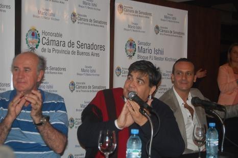 """Mario Ishii, el senador provincial calificó de """"traidor"""" al intendente"""