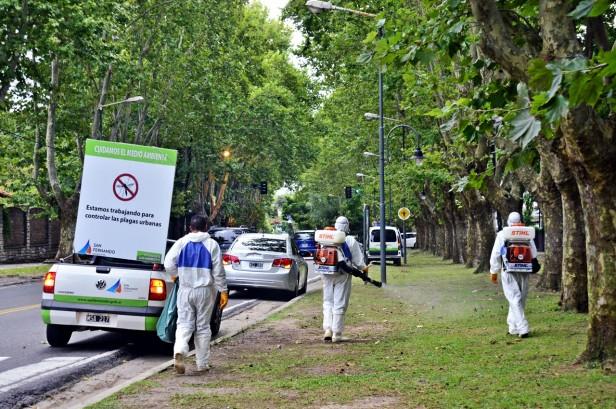 El Municipio brinda el servicio de desinfección, fumigación y desratización en todo San Fernando