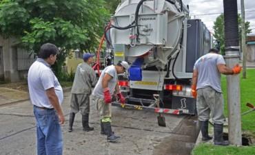 El Municipio se encarga de la limpieza de sumideros y de los problemas hidráulicos de San Fernando