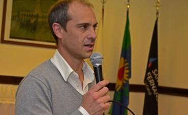 """Santiago Aparicio: """"Scioli en San Fernando fue un visionario"""""""
