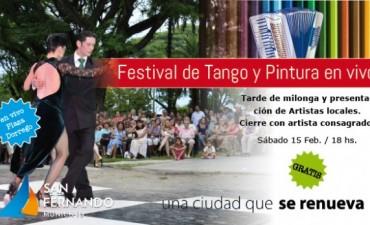 """""""Festival de Tango y Milonga"""" en la Plaza Dorrego"""