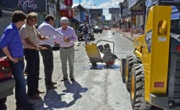 La remodelación del centro comercial de Constitución sigue avanzando