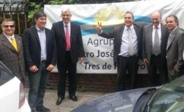 La Gelbard acompañó el homenaje del FNP a Néstor Kirchner