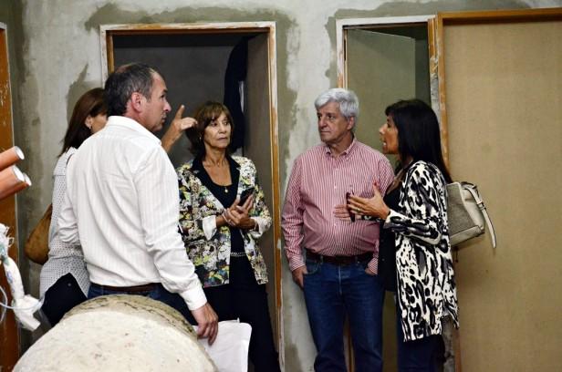 Luis Andreotti sigue de cerca la renovación del Centro de Salud N° 66, en el barrio Fate