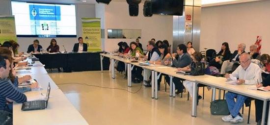 El encuentro tuvo lugar ayer en la sede de la CONADIS. Se leyó el acta de la última asamblea y se formularon propuestas para trabajos futuros.  La Comisión Nacional Asesora para la Integración de las Personas con Discapacidad (CONADIS) participó ayer