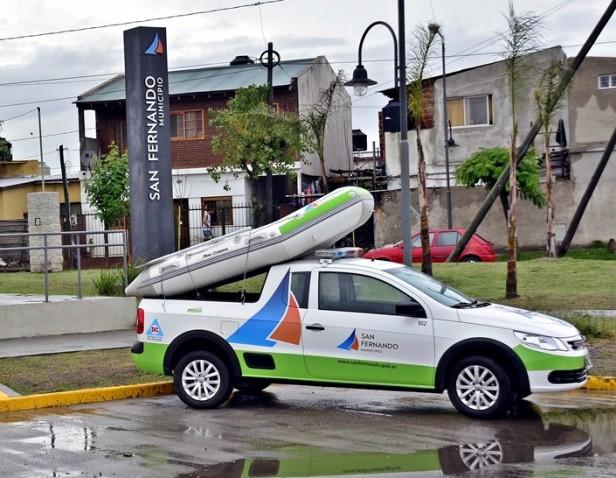 San Fernando: recomendaciones de Defensa Civil ante crecida