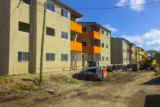 Tigre avanza en la construcción de viviendas en el Barrio Alte. Brown