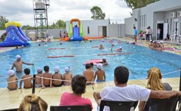 San Fernando arrancó la segunda etapa de sus colonias con juegos acuáticos e inflables