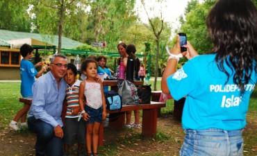 Los chicos de las islas también disfrutan de las Colonias de Verano en Tigre