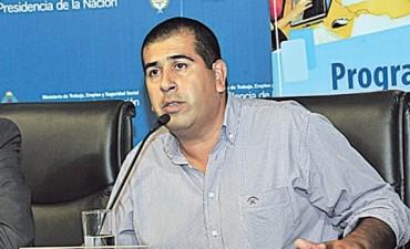 El referente de la Juventud Sindical Peronista, Hernán Escudero, se