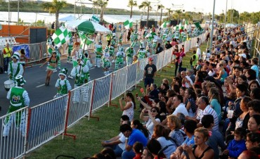 Tigre se tiñó de color en la primera fecha del Carnaval del Río