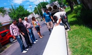 Mejoras hidráulicas en Tigre Centro