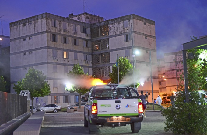 San Fernando realizó más tareas de prevención del dengue en Infico y Villa del Carmen