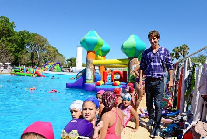 Gran cierre de Colonias en los Polis de San Fernando con juegos inflables y actividades de agua