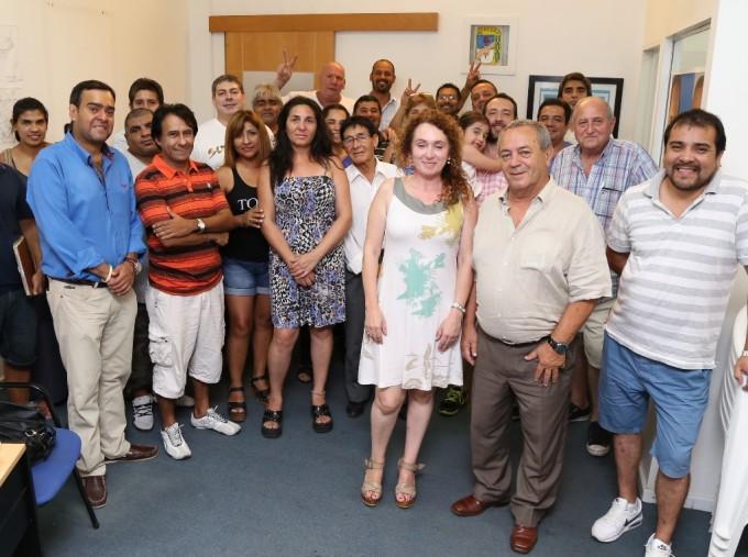Roberto Passo impulsa la afiliación al PJ en Tigre