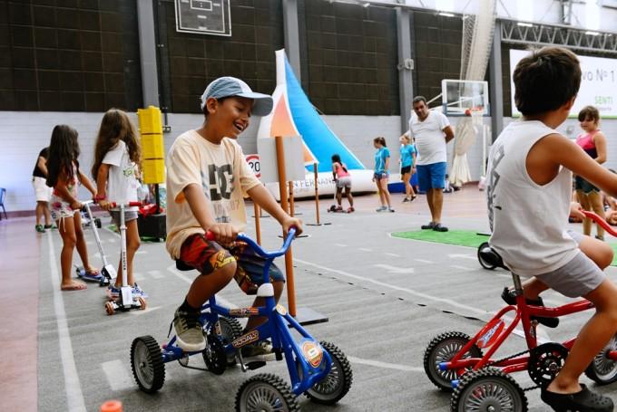 Educación vial para los chicos de las Colonias de verano de San Fernando